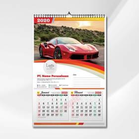 Kalender Dinding 46x64cm