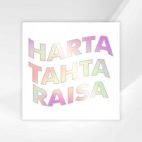 Sticker Harta Tahta Custom